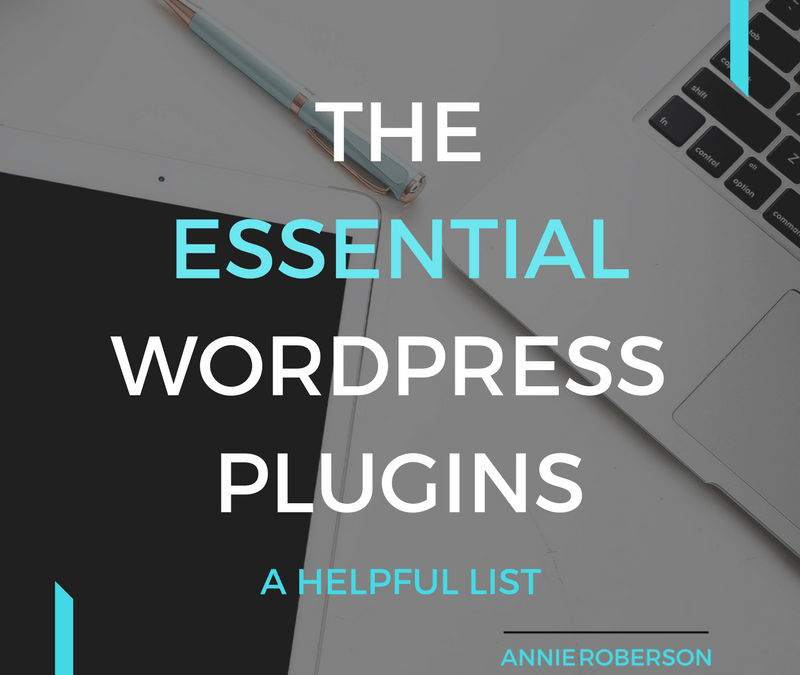 The Essential WordPress Plugins